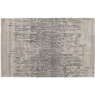 Saoirse Hand-Tufted Black/Gray Area Rug Rug Size: 4 x 6
