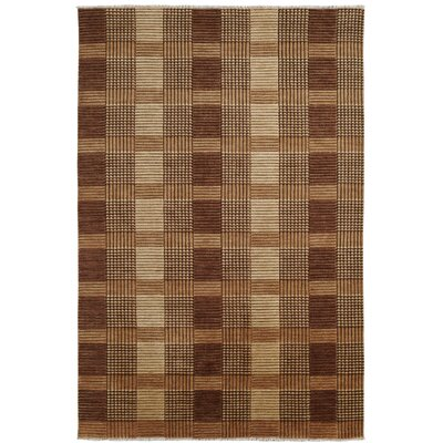 Lounge Brown Area Rug Rug Size: Rectangle 4 x 6