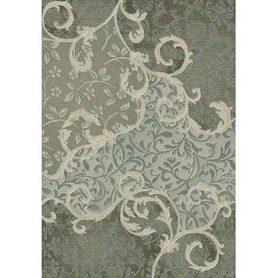 Eclipse Ocean Area Rug Rug Size: Rectangle 53 x 77