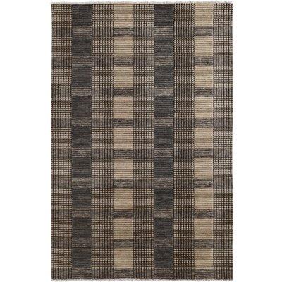 Lounge Gray Area Rug Rug Size: Rectangle 4 x 6