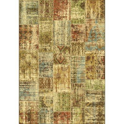 Heritage Abstract Area Rug Rug Size: 53 x 77