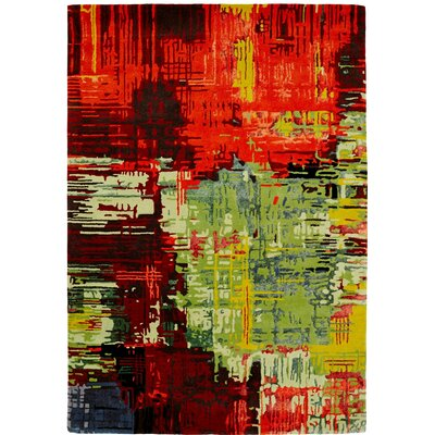 Allure Multi Area Rug Rug Size: 2 x 4