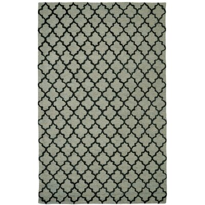 Broadway Geometric Sage Area Rug Rug Size: 36 x 56
