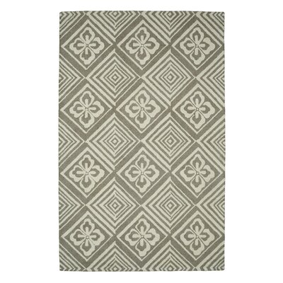 Palace Silver Area Rug Rug Size: 4 x 6
