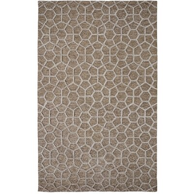 Broadway Tufted Cotton Silver Area Rug Rug Size: Rectangle 2 x 4