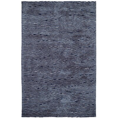 Celeste Silver / Blue Rug Rug Size: Rectangle 2 x 4