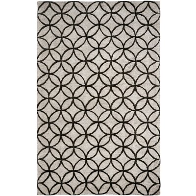 Broadway Tufted Cotton Taupe Area Rug Rug Size: Rectangle 2 x 4