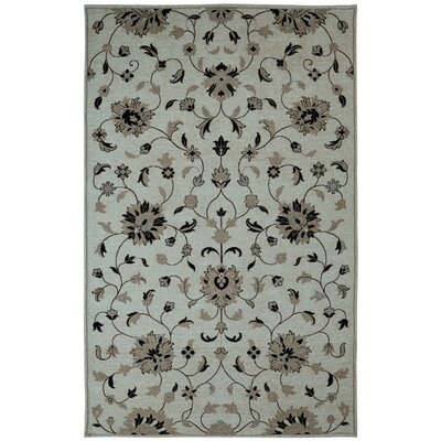 Element Grey Floral Area Rug Rug Size: 2 x 3