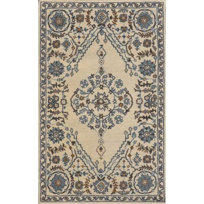 Sapphire Ivory / Gray Oriental Area Rug
