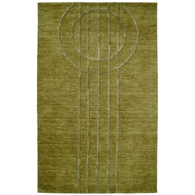 Soho Green Area Rug Rug Size: Rectangle 36 x 56