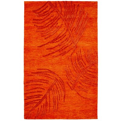 Soho Rust Area Rug Rug Size: Rectangle 5 x 8