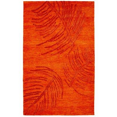 Soho Rust Area Rug Rug Size: 8 x 11