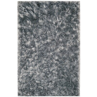 Kailyn Teal Solid Rug Rug Size: Rectangle 3 x 5
