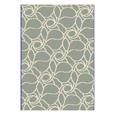Passion Green Rug Rug Size: 36 x 56