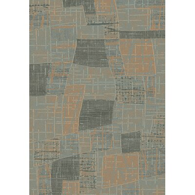 Opus Grey/Beige Geometric Area Rug Rug Size: 67 x 96