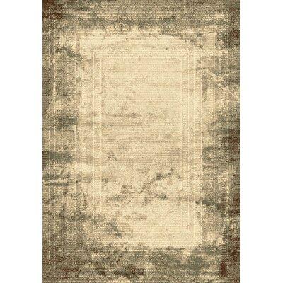 Opus Beige/Grey Area Rug Rug Size: 710 x 1010