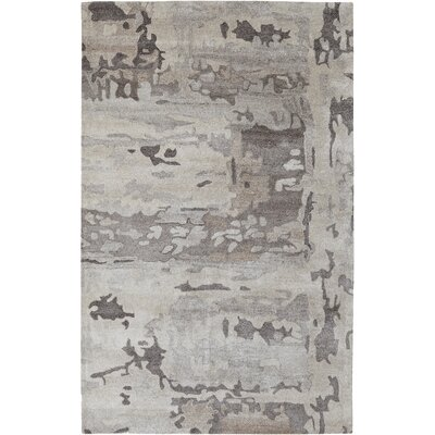 Saoirse Gray Area Rug Rug Size: Rectangle 4 x 6