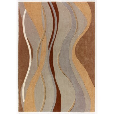 Mystique Waves Area Rug Rug Size: 710 x 1010