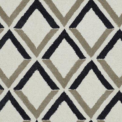 Palace Ivory Geometric Area Rug Rug Size: 2 x 4