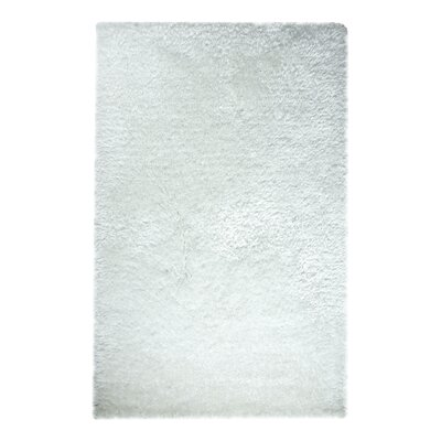 Forte White Area Rug Rug Size: Rectangle 5 x 8