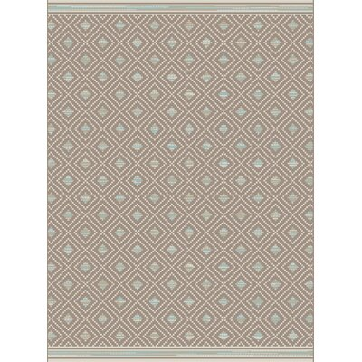 Piazza Brown Indoor/Outdoor Area Rug Rug Size: Rectangle 710 x 1010