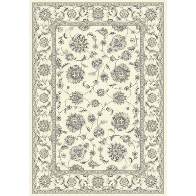 Attell Oriental Cream Area Rug Rug Size: Rectangle 67 x 96