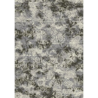 Ruby Gray Area Rug Rug Size: Runner 22 x 11