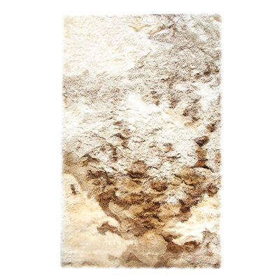 Leeann Hand Woven Beige Area Rug Rug Size: Rectangle 5 x 8