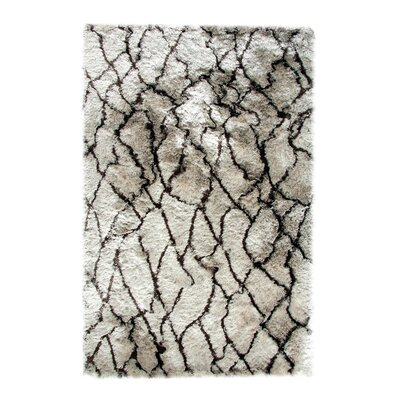 Loft Silver/Brown Area Rug Rug Size: Rectangle 10 x 14