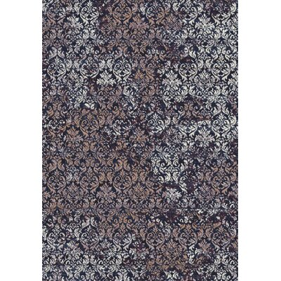 Eclipse Brown/Gray Area Rug Rug Size: Rectangle 53 x 77