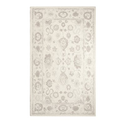 Montoya Ivory Hand Woven Area Rug Rug Size: Rectangle 33 x 53