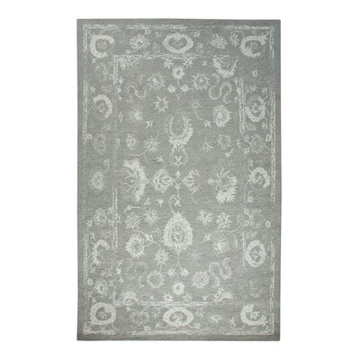 Avalon Gray Area Rug Rug Size: 33 x 53
