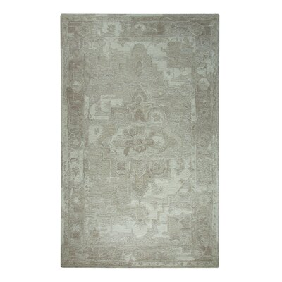 Avalon Taupe Area Rug Rug Size: Rectangle 5 x 8