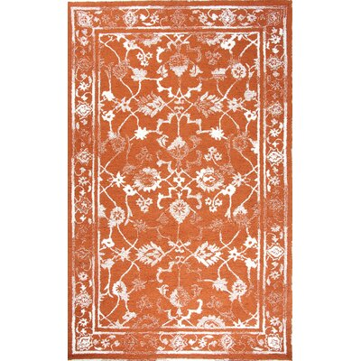 Avalon Copper Area Rug Rug Size: 92 x 126