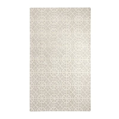 Casual Ivory Area Rug Rug Size: Rectangle 2 x 4