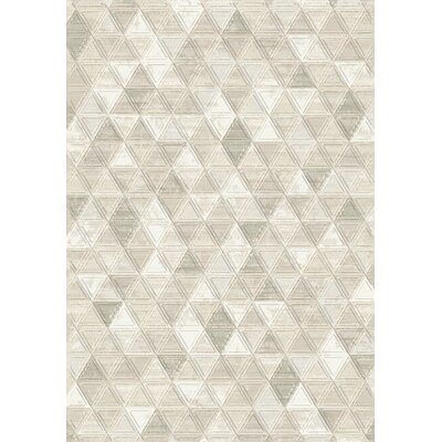 Eclipse Ivory Area Rug Rug Size: Rectangle 311 x 57