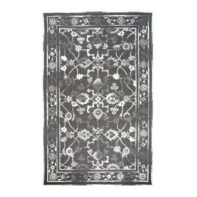 Montoya Charcoal Area Rug Rug Size: Rectangle 92 x 126