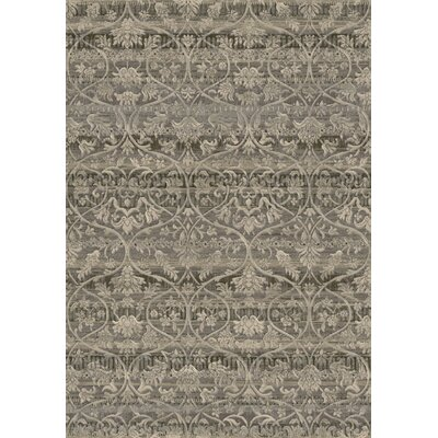 Eclipse Taupe Area Rug Rug Size: Rectangle 53 x 77