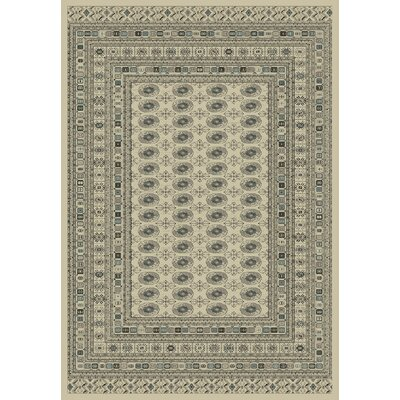 Utopia Cream Area Rug Rug Size: 2' x 3'5