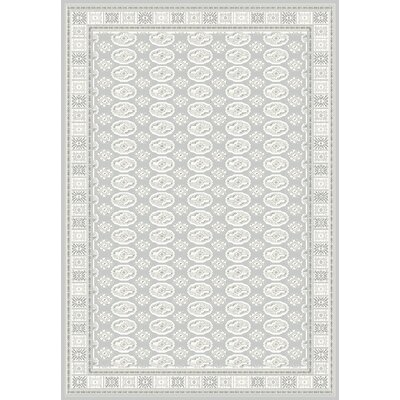 Imperial Dark Gray Area Rug Rug Size: 53 x 77