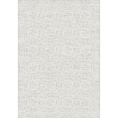 Imperial Gray Area Rug Rug Size: Rectangle 53 x 77