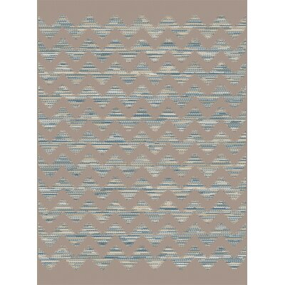 Piazza Brown Indoor/Outdoor Area Rug Rug Size: 6'7