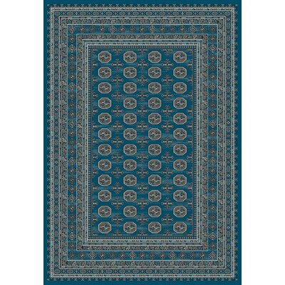 Regal Blue Area Rug Rug Size: Rectangle 2 x 35