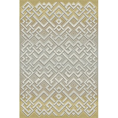 Royal Treasure Gray Area Rug Rug Size: Rectangle 53 x 77