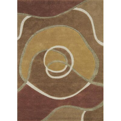 Allure Allurerary Tan Area Rug Rug Size: Rectangle 8 x 11