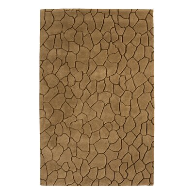Aria Earth Brown Area Rug Rug Size: 8 x 11