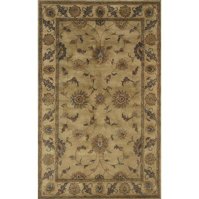 Charisma Adams Beige Area Rug Rug Size: Rectangle 67 x 96