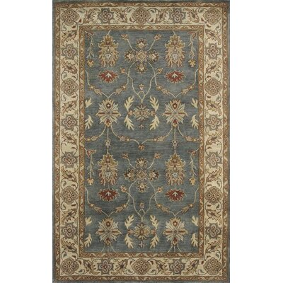 Charisma Parson Blue / Ivory Area Rug Rug Size: Rectangle 67 x 96