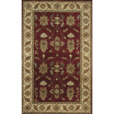 Dynamic Rugs Charisma Parson Red/Ivory Rug - Rug Size: 4' x 6' at Sears.com