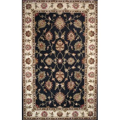 Charisma Darling Black / Ivory Area Rug Rug Size: Rectangle 5 x 8